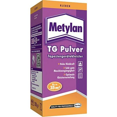 Metylan TG tapisser, 200g Lot de 1Colle instantanée, mtgi3