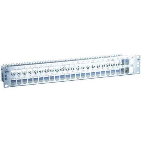 Metz Connect Patchfeld modul 48Port TN MPP48-Edst-leer