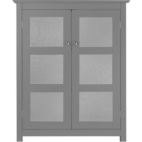 Meuble bas de rangement de salle de bain gris Connor Elegant Home Fashions EHF-580G