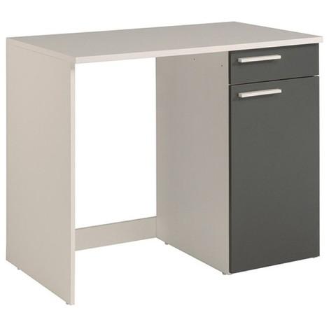meuble bas versus 104x86x60 gris blanc
