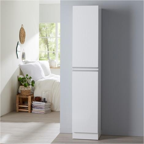 Meuble colonne de salle de bain à poser Dynamic blanc 180 cm