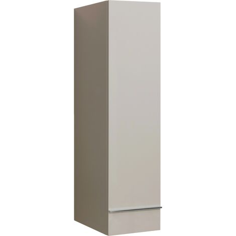 Meuble colonne TERRY LAQUE 30 TAUPE