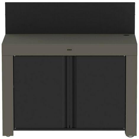 meuble de cuisine fermé pour plancha - pmap12070 - eno
