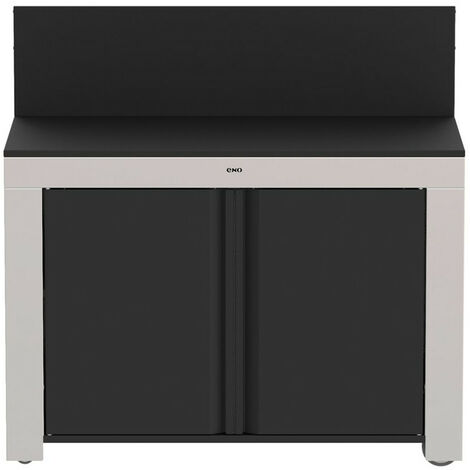 meuble de cuisine fermé pour plancha - pmip12085 - eno