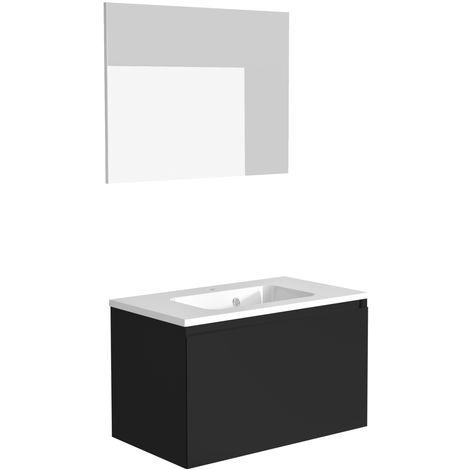 Meuble de salle de bain 80 cm Nordik - Allibert