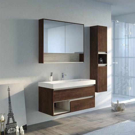 Meuble de salle de bain ANZIO 1000
