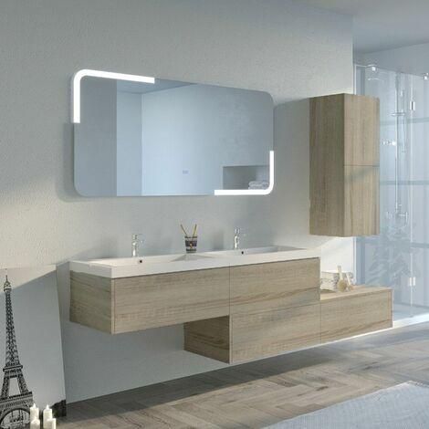 Meuble de salle de bain BELLISSIMO Scandinave