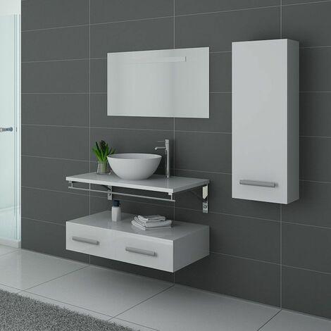 Meuble de salle de bain Blanc VIRTUOSE