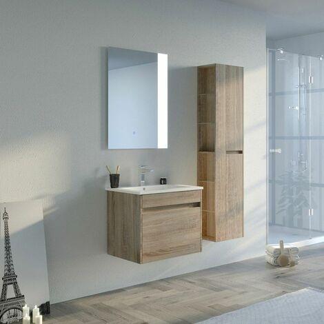 Meuble de salle de bain BOVALINO 600 Scandinave