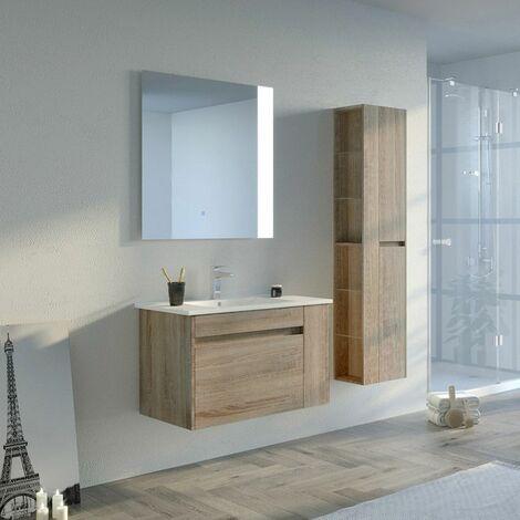 Meuble de salle de bain BOVALINO 800 Scandinave - BOVALINO-800SC