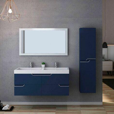 Meuble de salle de bain CALABRO 1200 Bleu saphir