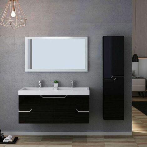 Meuble de salle de bain CALABRO 1200 Noir