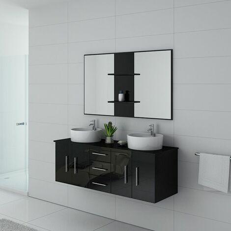 Meuble de salle de bain CARSOLI Noir