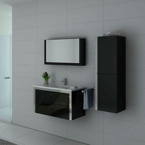 Meuble de salle de bain DIS025-900 Noir