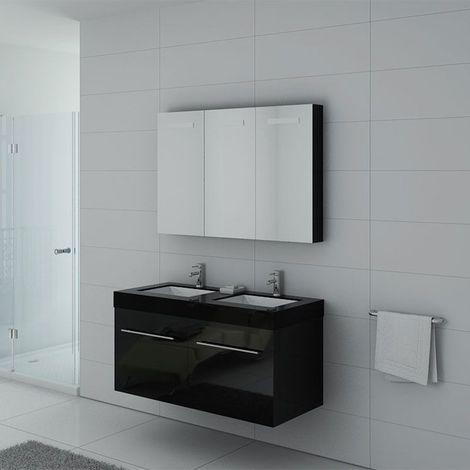 Meuble de salle de bain DIS1200 Noir