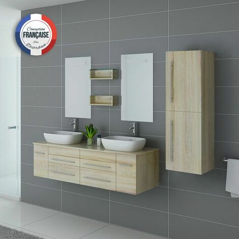 Meuble de salle de bain DIS748 Scandinave