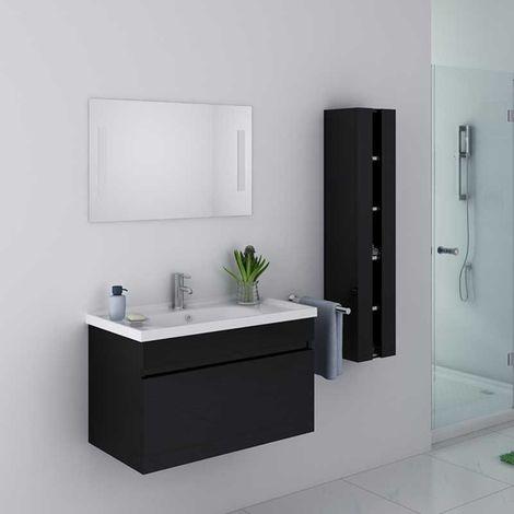 Meuble de salle de bain DIS800A Noir