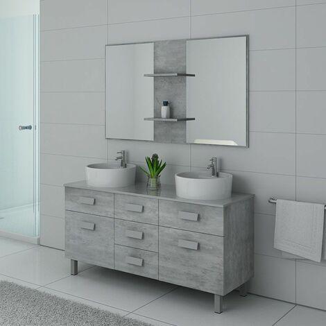 Meuble de salle de bain DIS911BT Béton