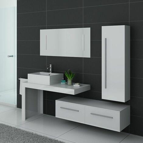 """main image of """"Meuble de salle de bain DIS9250 Blanc"""""""