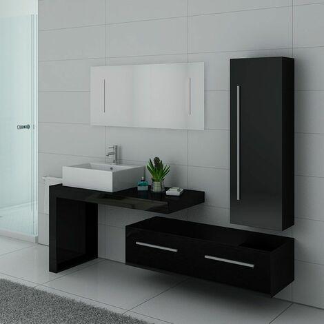 Meuble de salle de bain DIS9250 Noir