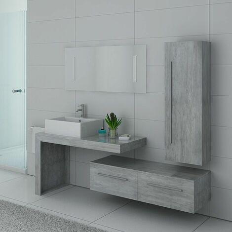 Meuble de salle de bain DIS9250BT Béton