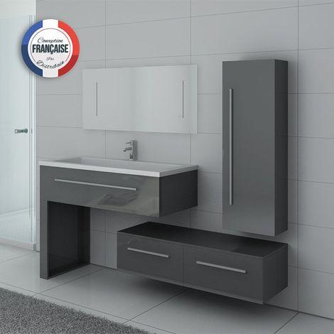 Meuble de salle de bain DIS9251 Gris Taupe - DIS9251GT