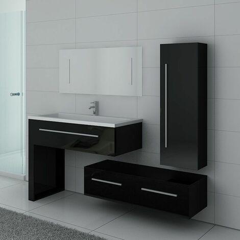 Meuble de salle de bain DIS9251 Noir
