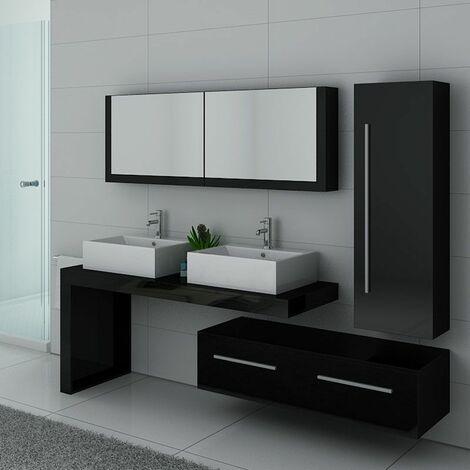 Meuble de salle de bain DIS9350 Noir