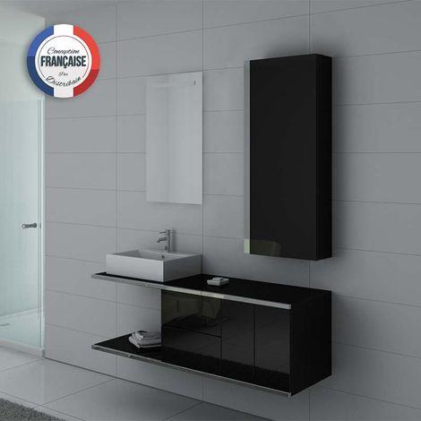 Meuble de salle de bain DIS9450 Noir