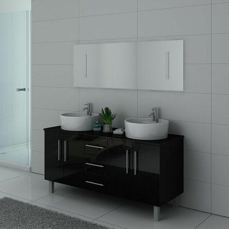 Meuble de salle de bain DIS989 Noir
