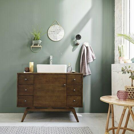Meuble de salle de bain en bois de mindy 100