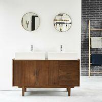 Meuble sous lavabo vasque soldes jusqu 39 au 4 f vrier 2020 - Meuble de salle de bain style retro ...