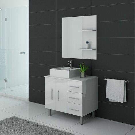 Meuble de salle de bain FLORENCE Blanc
