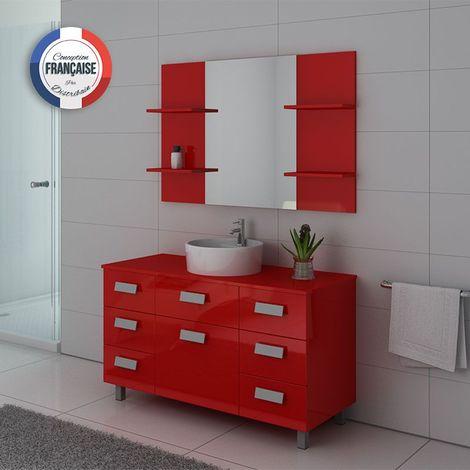 Meuble de salle de bain IMPERIAL Coquelicot