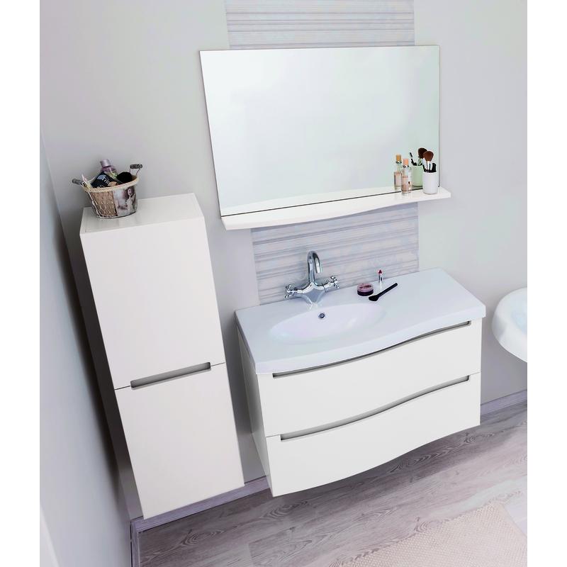Meuble de salle de bain italo 90 blanc sachmitalo90b - Ensemble robinetterie salle de bain ...