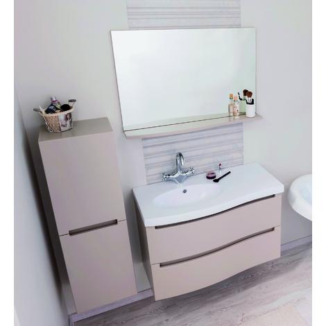 Meuble de salle de bain ITALO 90 TAUPE