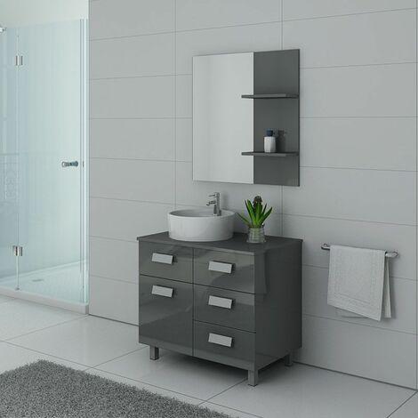 Meuble de salle de bain MILAN Gris Taupe