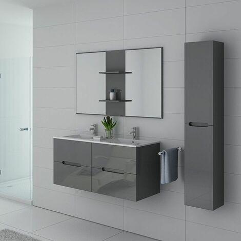 Meuble de salle de bain Milazzo Gris Taupe