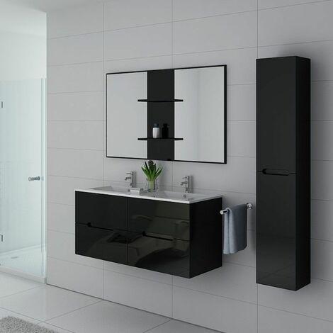 Meuble de salle de bain Milazzo Noir