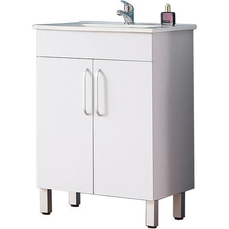 Meuble de salle de bain modèle de Anlovi 580x380x824cm Ensemble meuble salle de bain et vasque