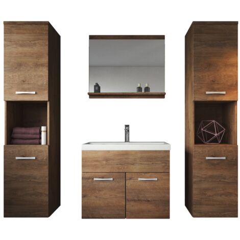 Meuble de salle de bain Montréal XL 60 cm lavabo