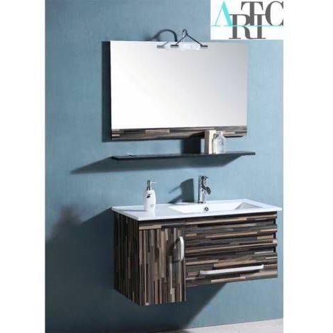 Meuble de salle de bain NERJA - Bleu