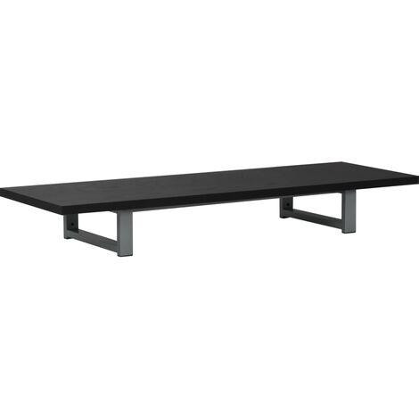 Meuble de salle de bain Noir 120x40x16,3 cm