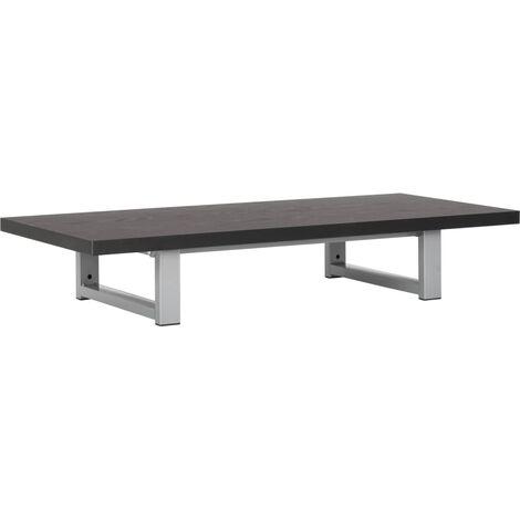 Meuble de salle de bain Noir 90x40x16,3 cm