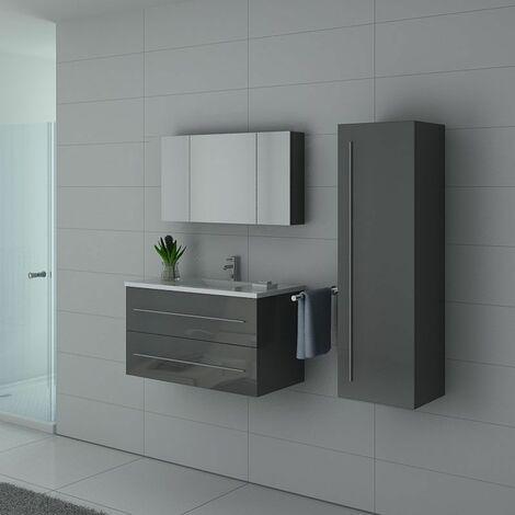 Meuble de salle de bain Nova Gris Taupe