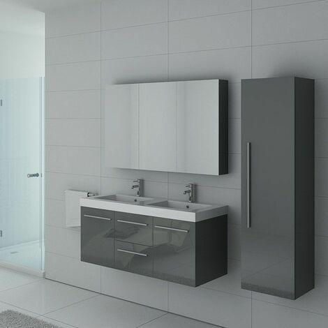 Meuble de salle de bain PALERME Gris Taupe
