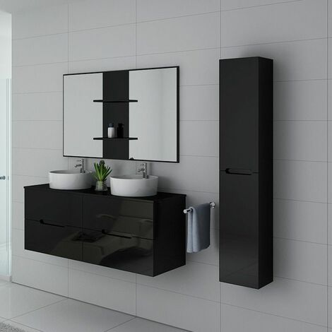 Meuble de salle de bain Rivalto Noir