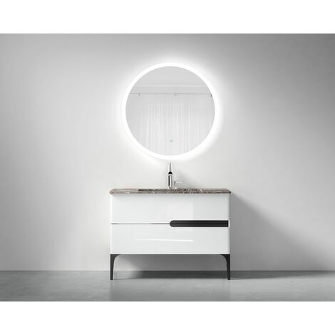 Meuble de salle de bain simple vasque 90cm, ROY