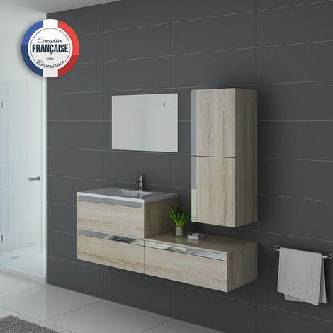 Meuble de salle de bain simple vasque SUBLISSIMO Scandinave