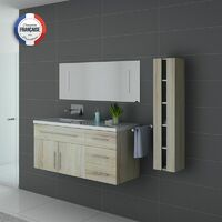 Meuble de salle de bain simple vasque URBAN Scandinave